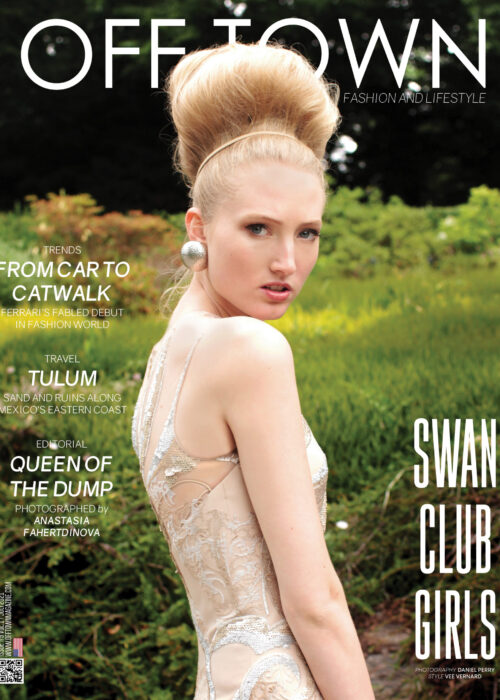 Swan Club Girls Cover Story #9 By Daniel Perry