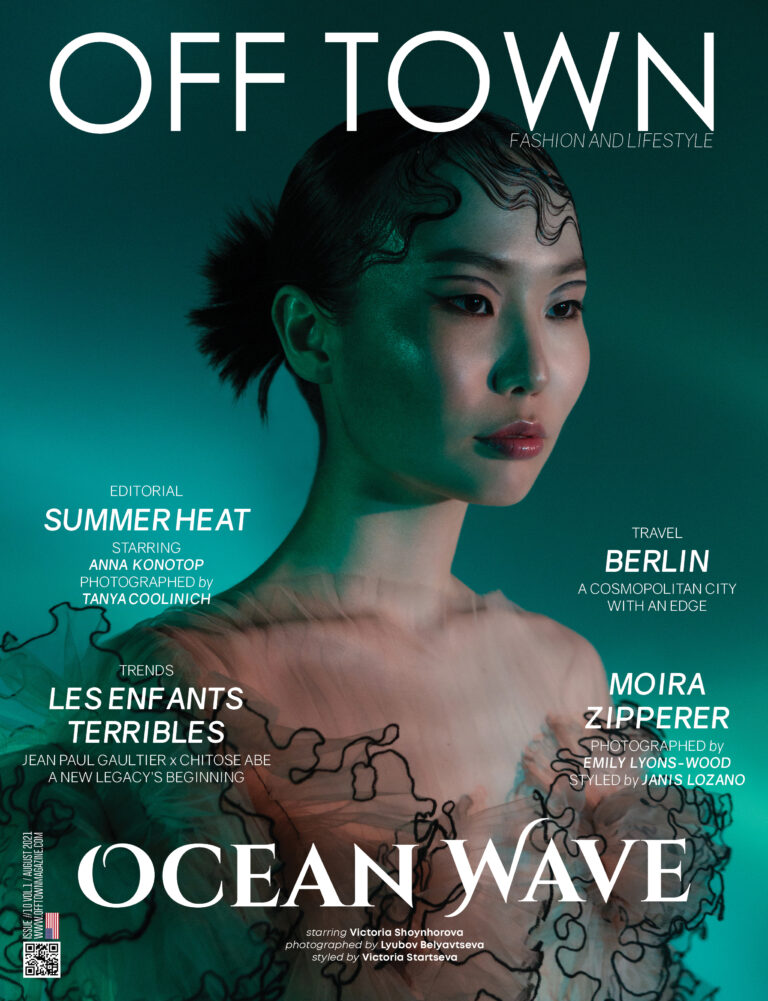 Read more about the article Ocean Wave Cover Story #10 By Lyubov Belyavtseva